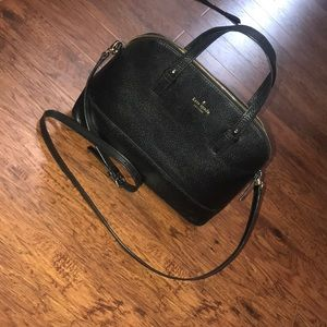 kate spade black crossbody/shoulder purse